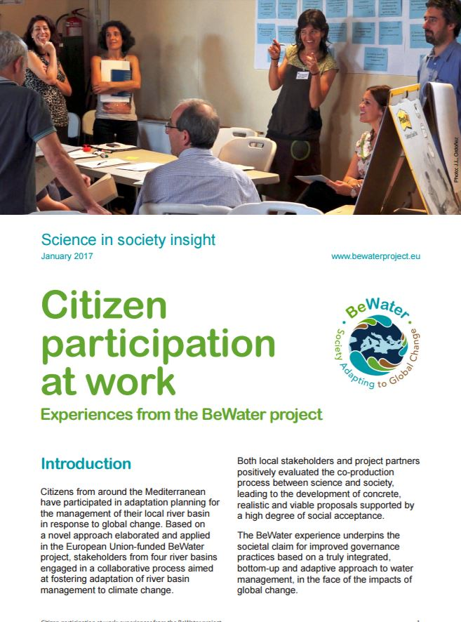 portada citizen participation at work